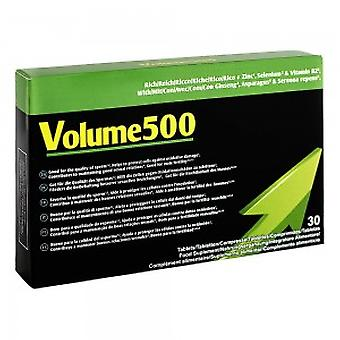 Volume500 - To Enhance & Invigorate Masculine Output - Sperm Increase Pills -  Increase Seminal Fluid Volume & Quality - For Thicker Loads - 30 Capsul
