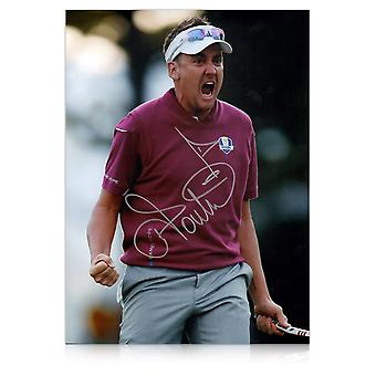 Ian Poulter assinado Foto: Ryder Cup 2012