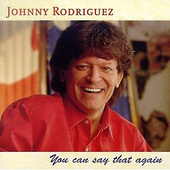 Johnny Rodriguez - You Can Say That Again [CD] USA import