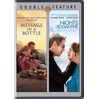 Message in a Bottle/Nights in Rodanthe [DVD] USA import