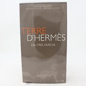 Terre D'hermes Eau Tres Fraiche by Hermes Eau De Toilette 4.2oz Spray New