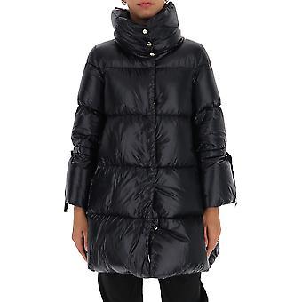 Herno Pi1135d120179300 Dames's Zwart Nylon Down Jacket