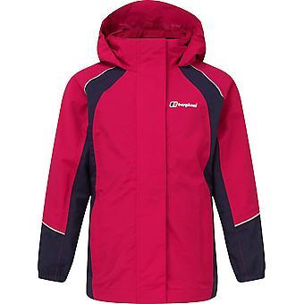Berghaus Kids' Callander Waterproof Jacket Raspberry