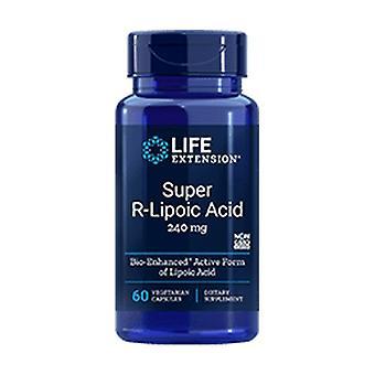Ácido Super R-Lipoico, 240 mg 60 cápsulas vegetais