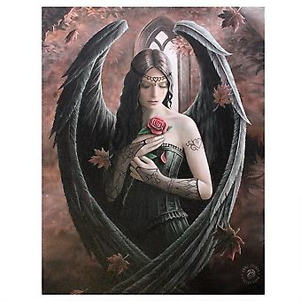 Anne Stokes Angel Rose Canvas