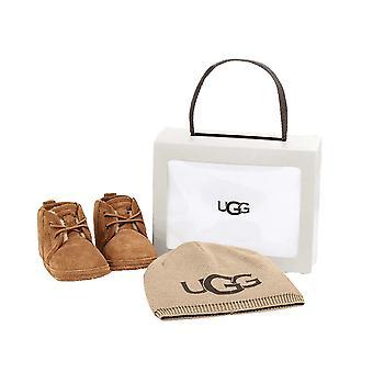 UGG Footwear UGG Infant Neumel Boots And UGG Beanie Gift Set