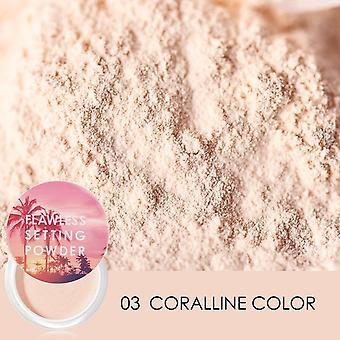 Brighten Natural Setting Powder Light Fine Powder Not Clog Pores Silky Soft Smooth Velvet Face Make Up