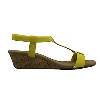 Alfani Womens Voyage Fabric Open Toe Casual Ankle Strap Sandals