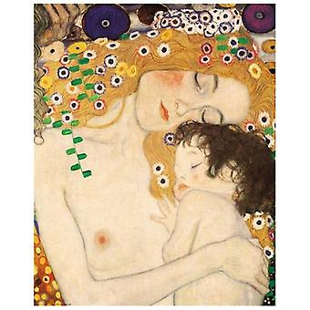 Print on canvas - The Three Ages (Detail) - Gustav Klimt - Painting on Canvas, Wall Decoration