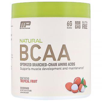 MusclePharm, Natural BCAA, Tropical Fruit, 0.52 lbs (234 g)