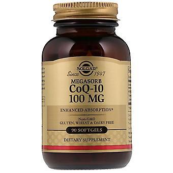 Solgar, Megasorb CoQ-10, 100 mg, 90 Softgels
