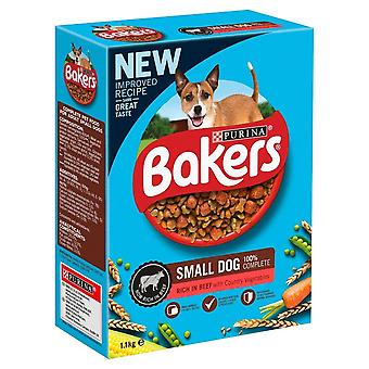 Bakers Small Dog - Beef & Veg - 1.1kg