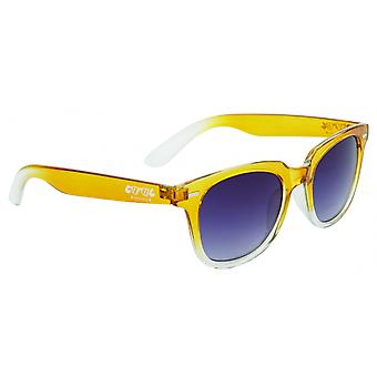 Sunglasses Unisex Wanderer Cat.3 Yellow/White (006)