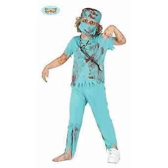 Cirurgião de Zombie médico médico Halloween traje de monstro morto-vivo