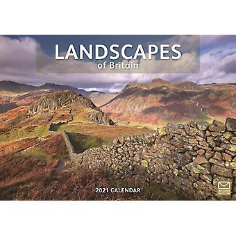 Landscapes of Britain A4 Calendar 2021