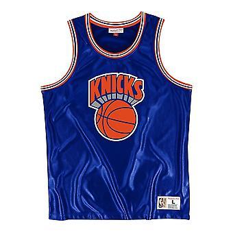 Mitchell & Ness Nba New York Knicks Dazzle MSTKDF18015NYKROYA1 koripallo koko vuoden miesten t-paita