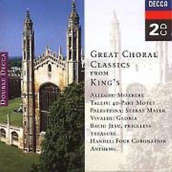 Grote Choral klassiekers van Kin - grote Choral klassiekers van koning is koor van King's College, Cambridge [CD] USA import