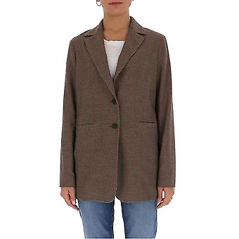 Semi-couture Y0wi01var63 Women's Brown Polyester Blazer