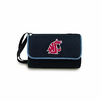 Blanket Tote- Blk (Washington State Cougars) Digital Print