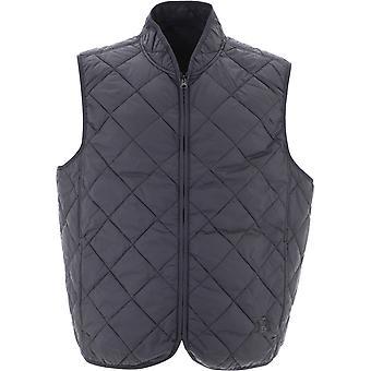 Baracuta Brgil0018ut2040100 Men's Black Nylon Vest