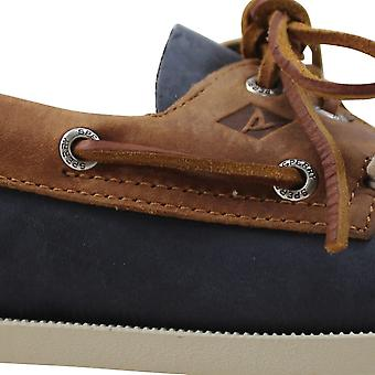Sperry A/O 2-Eye Navy/Brown STS21718 Men's