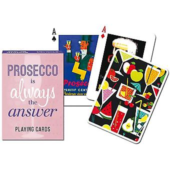 Gibsons Prosecco Playing Card (P1683)