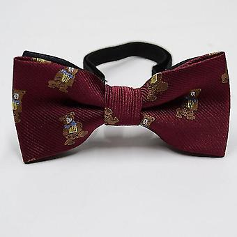 Plaid Bowtie Polester Baby Kid Classical Unisex Girls