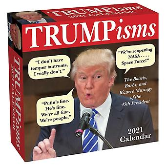 TRUMPisms 2021 DaytoDay Calendar-julkaisu Andrews McMeel Publishing
