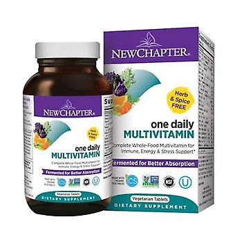New Chapter Only One Multivitamin, 72 tabs