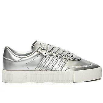Sambarose Silver Metallic Sneakers