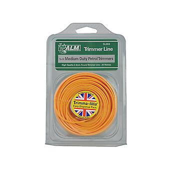 ALM Manufacturing SL004 Medium-Duty Petrol Trimmer Line 2.4mm x 20m ALMSL004