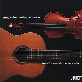 Fairbanks / Yerby - Music for Violin & Guitar [CD] USA import