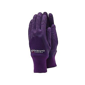 Town & Country TGL272S Master Gardener Ladies Aubergine Gloves Small