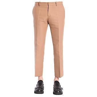 N°21 B01105122133 Men's Brown Cotton Pants