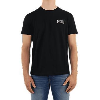 Valentino T-paita Jersey, Regular, Vltn Musta UV3MG08G6LC0NO Top