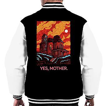 Psycho Bates Home Yes Mother Men's Varsity Jacket
