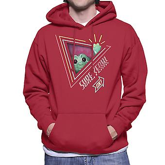 Trolls Sure Yeah Ok Men's Hooded Sweatshirt