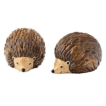 English Tableware Company Edale Salt + Pepper Set Hedgehog DD4306A02