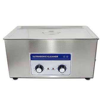 22l  Professional Ultrasonic Cleaner Machine With Mechanical Timer Heated  Stainless Steel Cleaning Tank 110v/220v