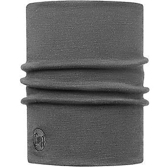 Buff Unisex Heavyweight Merino Wool Warm Winter Neckwarmer Tubular - Solid Grey