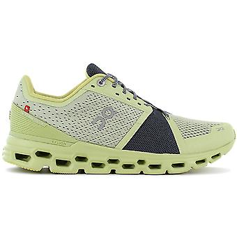 ON Running Cloudstratus - Men's Running Shoes Yellow 29.99772 Sneakers Sports Shoes