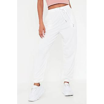 Hohe Taille Loopback Jogger