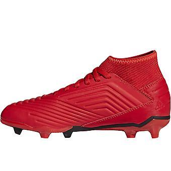 adidas Performance Kids Predator 19,3 Firm Ground Training fotbollsskor - Röd