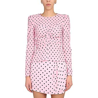 Red Valentino Ur0abe405dv60g Women's Pink Polyester Top
