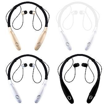 Sport bt øretelefoner nakkebånd lette hodetelefoner 15h musikk spilletid støyreduksjon