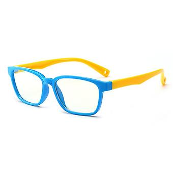 Baby Anti-blue Light Silicone Glasses, Soft Frame Goggle Plain, Kids Eywear