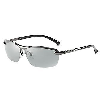 نظارات شمسية مستقطبة فوتوغرافية، نظارات تغيير اللون للرجال، مضاد للوهج