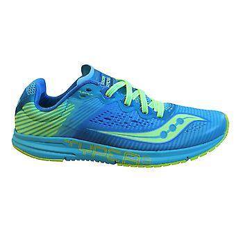 Saucony tipo A8 zapatillas de citron azul para mujer encaje zapatillas de running S19044 2