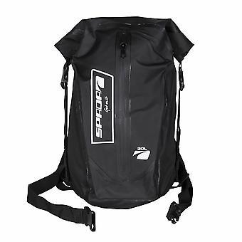 Spada Dry Motorcycle Rucksack 30L Black Backpack Waterproof Dustproof