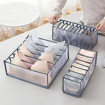 Underwear Bra Socks Panty Storage Boxes Home Dormitory Office Cabinet